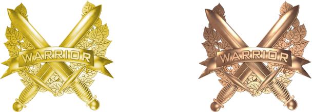 dva odznaky